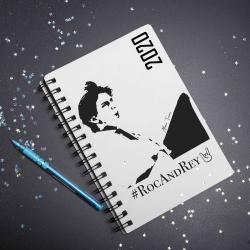 Cuaderno/Agenda Roca Rey