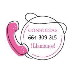 ¿Tienes dudas? Llámanos 664 309 315 - 605 514 332